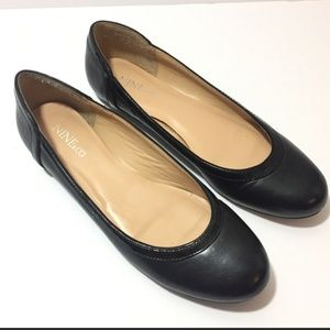 Nine & Co Women's Ballet Flats Size 9 Black